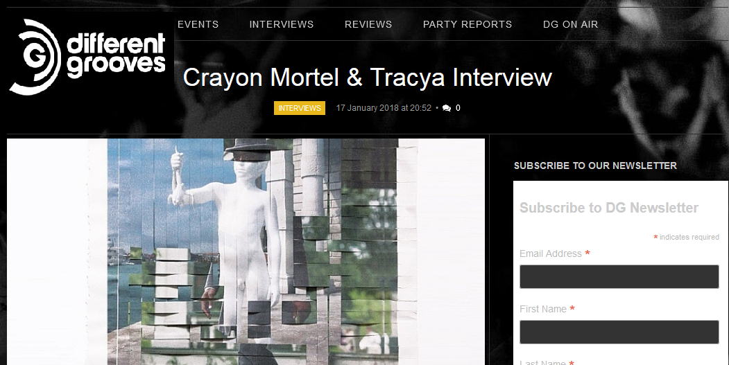 [INTERVIEW] Crayon Mortel & Tracya on Different Grooves !