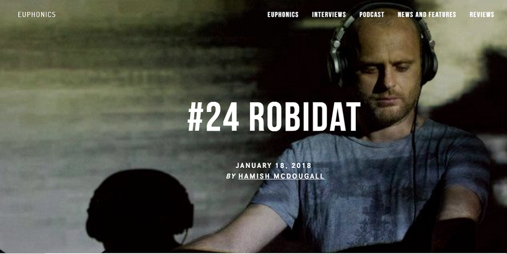 [PODCAST] Robidat @Euphonics (London)
