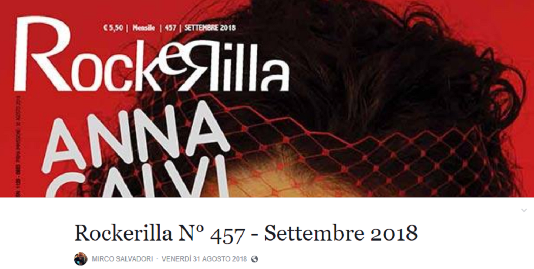 "[REVIEW] Hana Sent: ""Eyes Cream"" on ROCKERILLA #457 (Sept. 2018) !!"